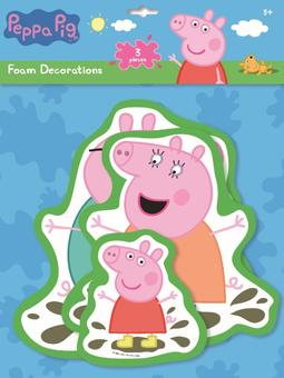 Foam stickers wall decoration Peppa Pig