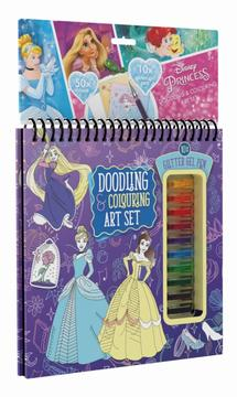 Colouring book w gel pens Disney Princess