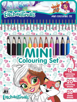 Mini blok s pastelkami Enchantimals