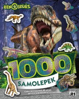 1000 stickers with activities Dinosaurs