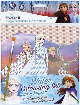 Water colouring set with a bru Frozen 2