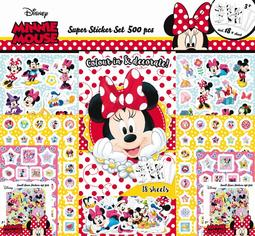 Super sticker sets 500 pcs Minnie