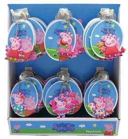 3D keychains on paper stand Peppa Pig
