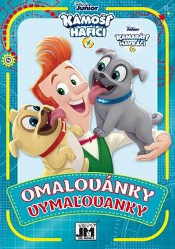 Colouring books A5+ Puppy Dog Pals