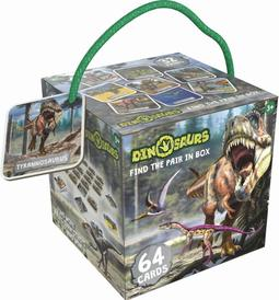Find the pair box Dinosaurs