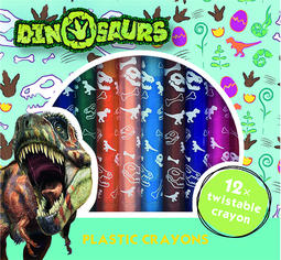 Twistable crayons Dinosaurs