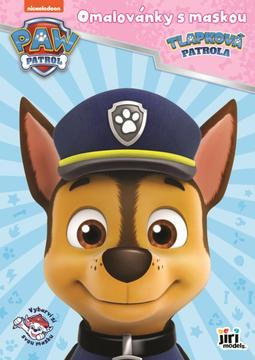 Colouring books with a mask Paw Patrol