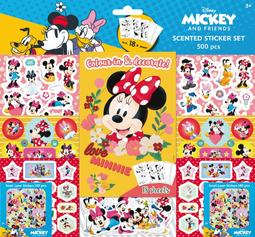 Scented stickers 500 pcs Minnie