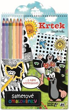 Velvet colouring books The Little Mole
