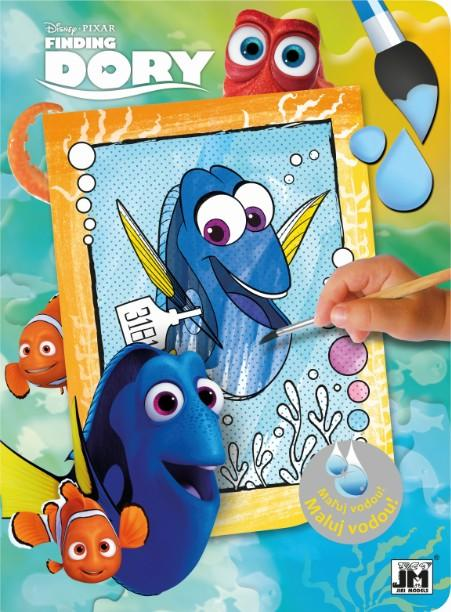JIRI MODELS a.s. - Paint with water color. books Finding Dory
